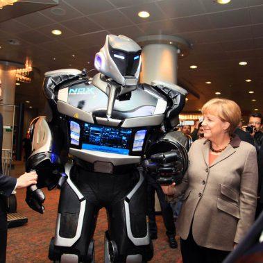 Merkel Roboter Highlight
