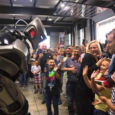 Roboter Live-Act