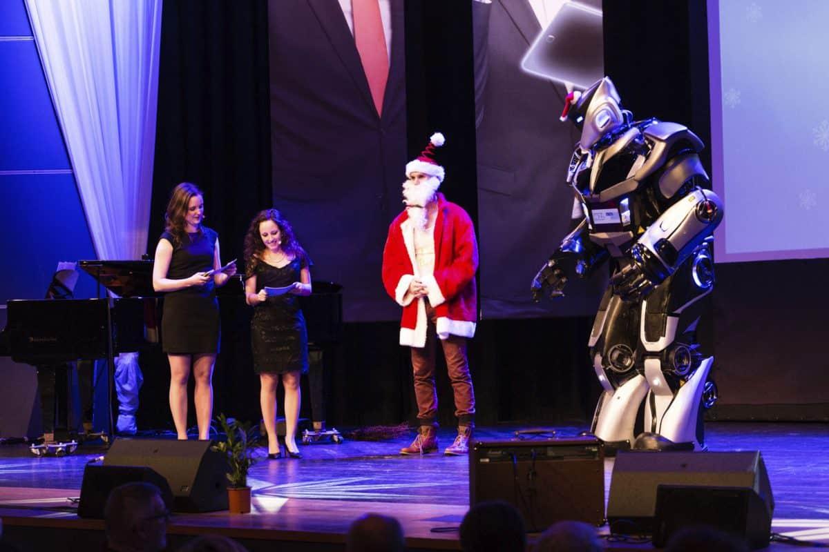 NOX als digitaler Weihnachtsmann bei RWTH Aachen